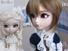 It's Only You | 5 Honneycutt&Handersen (Little Queen Gaou) Tags: pullip taeyang doll groove full custo stock artist victorien epoc period story love lady photgraphy histoire photographie amour couple old dollhouse diorama