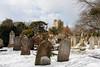 Ramsgate Cemetery - Tombstones & Chapel (Le Monde1) Tags: ramsgate kent england ramsgatecemetery county graves tombs tombstones headstones lemonde1 nikon d800e dumptonpark snow georgegilbertscott nonconformist anglican twin chapels