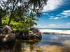 Anse Lazio, Praslin, Seychelles (lightfetcher) Tags: anselazio sand tropisch tropical wasser water ocean sea palmen meer strand beach seychelles praslin seychellen