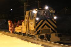 Network Rail ADB 968501 Snowblower (60044) Tags: network rail bielhack snow blower self propelled 7z09 rutherglen carstairs wcml west coast main line storm emma flickr abington adb 968501