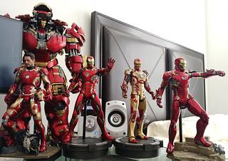 Iron Man Mark 42, 43, 44, 45, 46