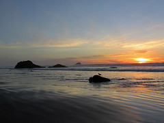 Hug Point at Pacific Coast in OR (Landscapes in The West) Tags: hugpointstatepark oregon pacificcoast beach ocean northwest sunset