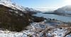Loch Lomond Panorama 1 (nic0704) Tags: bothy loch lomond lommond trossachs scotland highlands snow doune byre winter walk hike mountain hill walking