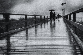 rainy day - Bansin/Usedom