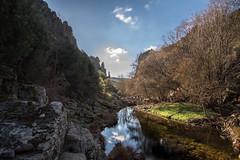 The Narrows of Almonte (Javiralv) Tags: narrows river reflection water mountain caceres apreturas río reflejo agua montaña cáceres cabañas del castillo extremadura