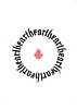hearth (ཟླ་བ་མཁན་) Tags: heart earth hearth calligraphy fraktur
