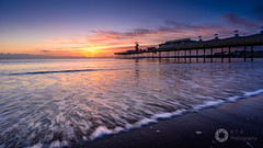 Sunrise on the Beach (RTA Photography) Tags: paigntonpier paignton torbay devon southdevon beach sunrise sky sea wave seascape nature cold nikond750 nikkor1835 rtaphotography morning dawn lowtide