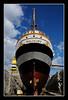 Palinuro from the bottom of the dock (marcofilzi) Tags: palinuro trainingship ship nikon nave marinamilitareitaliana marcofilzi italiannavy harbour d300s navescuola navy bacino drydock laspezia italy ita veliero