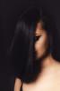 black shell (@aczel.xyz) Tags: hair blackhair darkhair smokeyeyes makeup dark black model face contemporary portrait beauty female femme girl woman studio canon 700d 50mm hungarian frequencyseparation photoshop lightroom raw