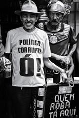 Those damn corrupt politicians (fcribari) Tags: 2018 50mm brasil brazul fujifilm nazaredamata pernambuco xpro2 blackandwhite blancoynegro carnival corruption folclore folklore fotografiaderua hat maracatu maracaturural monochome pretoebranco smile street streetphoto streetphotography