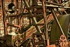 THE MACHINE AGE (akahawkeyefan) Tags: machine wood weathered chain sprocket harvester antique kingsburg kingsburghistoricalpark davemeyer