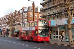 20180106 013 High Road, N12. Wrightbus DB300 DW285, LJ59 LWN (15038) Tags: buses lt londontransport northfinchley n12 highroad wrightbusdb300 dw285 lj59lwn