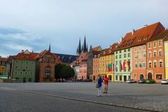 The Square (colourvein) Tags: cheb color colour cz czechrepublic square town leica