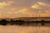 A Frouxeira (Fran Nieto) Tags: puestadesol laguna agua reflejo valdoviño faro