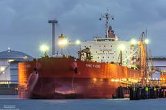 FPMC P Hero (Malte Kopfer Photography) Tags: fpmcphero fpmc crudeoiltanker oiltanker tanker öltanker rohöltanker rotterdam europoort calandkanaal pet7 petroleumhaven nightshot nightphotography night port