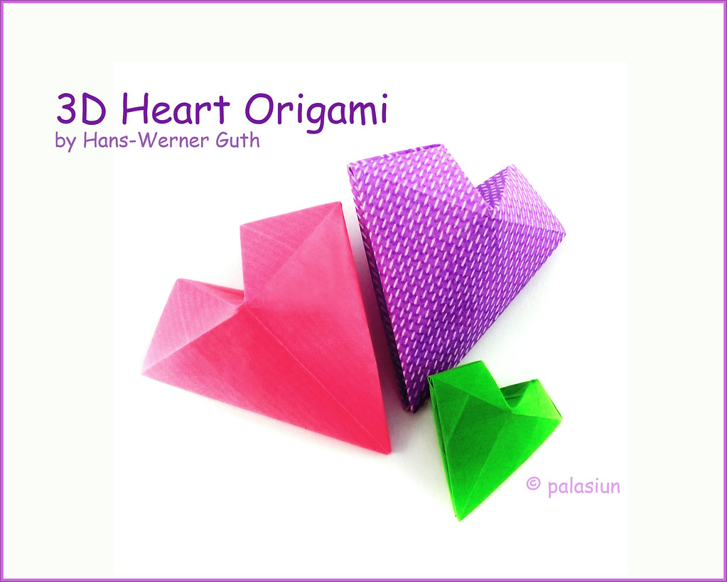 Mind Craft Origami Diagrams Wiring Diagram For Professional Advanced The World S Best Photos Of Heart And Flickr Hive Complex