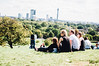 Friends at Primrose Hill (GerardCabestany) Tags: primrose hill blackandwhite lightroom vsco vscofilm vscofilm05 vscopreset friends people green park grass trees city skyline london nikond90 nikon 50mm18 friendship outside day daylight sun sunlight summer