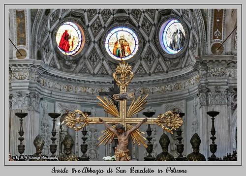Inside the Abbazia di San Benedetto in Polirone  07
