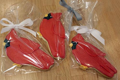 Cardinal Cookies