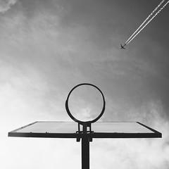 (eddygonzalezphoto) Tags: nikon travel 500px blackandwhite streetphotography sky plane street