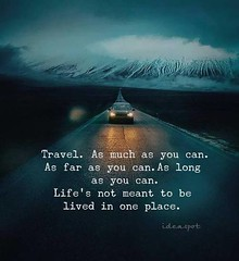 Travel as much as you can.. http://ift.tt/2EKPXsD (KTQ6WI5MLYNVZB4XQNFUWMLZFC) Tags: quotes love christmas life motivational