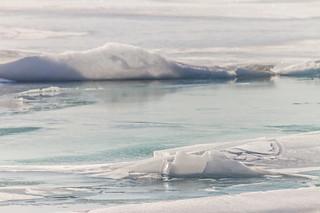 An icy Lake Ontario