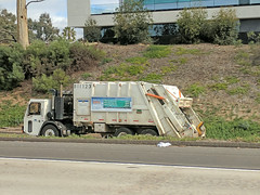 Garbage Truck 1-25-18 (Photo Nut 2011) Tags: california sanitation wastedisposal trash garbage waste junk refuse garbagetruck trashtruck 81123 sandiego