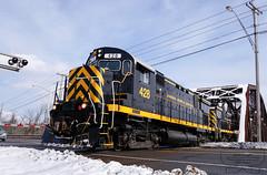 LAL 428 (FZEPArgon) Tags: livonia livoniaavonlakeville lal alco c425 century 428 425 newyork train freighttrain shortline