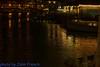 Bristol-08493 (John French - Happy Snapper) Tags: bristol evening night streetlights moon swans river harbourside