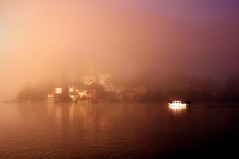 in the mist... (jackie bernelas) Tags: brouillard îlesangiulio italie lacdorta italia île hiver mist
