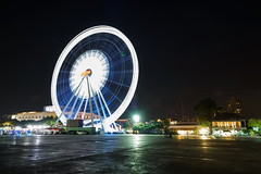 Spin (TigerPal) Tags: bangkok thailand asiatique chaopraya ferris ferriswheel motion blur longexposure night city thai