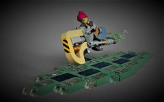 The rebel - District 18 - LSB 2018 (adde51) Tags: adde51 lego moc speeder cyberpunk lsb 2018 lsb2018 asian bike speederbike rebel instructions freeinstructions