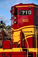 NC&StL 710 at Chattanooga, TN (KD Rail Photography) Tags: ncstl710 ncstl chattanooga tennessee tennesseevalley tennesseevalleyrailroad fallenflagsrailroads fallenflags classiclocomotive classicrailroads gp7 emd gm electromotivedivision eveninglight eveningsky fallcolors fallseason fallevening trains railroads transportation diesellocomotive diesel locomotive passengertrain touristrailroad