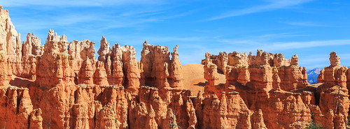 The typical in View if you hike down into Bryce Canyon