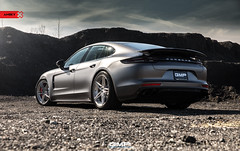 AN27- Porsche Panamera Turbo (anrkywheels) Tags: anrkywheels anrky an27 porsche panamera turbo hre forged forgiato oem pcar panny wrapped gmp performance north carolina matte gray adv1 vossen