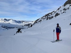 Fresh tracks in Engelberg
