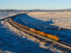 BNSF 5312 East at Cherokee, AZ (thechief500) Tags: bnsf railroads seligmansubdivision cherokee az usa us arizona