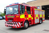 NK57 EXP (Ben Hopson) Tags: cddfrs county durham darlington fire rescue service 2007 dennis sabre rds retained duty system bishop auckland station d12 d12p2 blue lights sirens two tones battenburg training area nk57exp