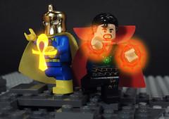 Power of Magic (-Metarix-) Tags: lego dc comics minifig doctor strange fate magic sorcer