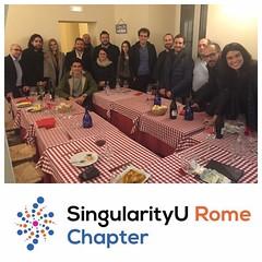 SingularityU Rome Chapter - Dinner (2)