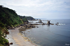 Playa del Silencio (Noemí pl.) Tags: playadelsilencio silencio playa playas mar montaña rocas agua nature naturaleza verde arena cielo airelibre asturias españa