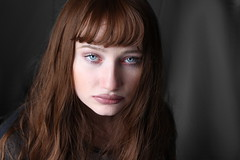 My soul (Silje Roos) Tags: photo photography photos photoshoot portrait picture photographys pretty people photograph pale beauty beautiful black blue blueeyes eyes lips hotgirl hot girl woman dope fashion model inspiration luxury hair style hairstyle