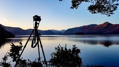 Great expectations... (mandysp8) Tags: derwentwater keswick cumbria lakedistrict camera tripod sunrise horizon landscape snow nationalpark uk allerdale
