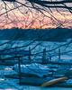 Sunset at Red Bank Marina (aka Buddy) Tags: 2018 winter sunset navesink river redbank nj og hdr