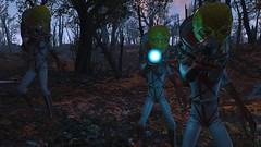 Fallout4 - Zeta Surveilance UFO daytime revisit sequence (tend2it) Tags: fallout4 fallout 4 rpg game pc ps4 xbox screenshot screenarchery reshade postprocessing injector nuclear apocalyptic future zeta alien blaster gun space suit ms abominations mod surveillance party ufo