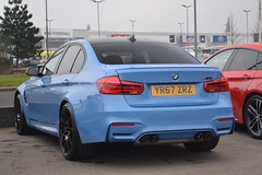 BMW M3 Competition Package (CA Photography2012) Tags: yr67zrz bmw m3 saloon competition package sedan f80 series blue rare supercar luxury gt grand tourer sportscar ca photography automotive