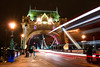 Tower Bridge, London, England (Aethelweard) Tags: london england unitedkingdom gb bridge night urban timeexposure long longexposure architecture beautiful old historic history light arch lighttrail
