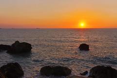Kaohsiung sunset (iengwaichan) Tags: 中山大學 高雄秘境 日落 台灣 高雄 西子灣 warm photo macauese sun m6 canon taiwan hdr sunset kaohsiung