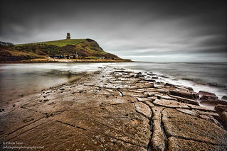 Kimmeridge Bay Ledge To The Tower