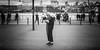 Searching (Sean Batten) Tags: london england uk tatemodern candid person people nikon d800 35mm stpauls thethames southbank city urban streetphotography street blackandwhite bw